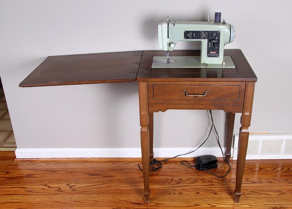 Hideaway Sewing Machine Cabinet