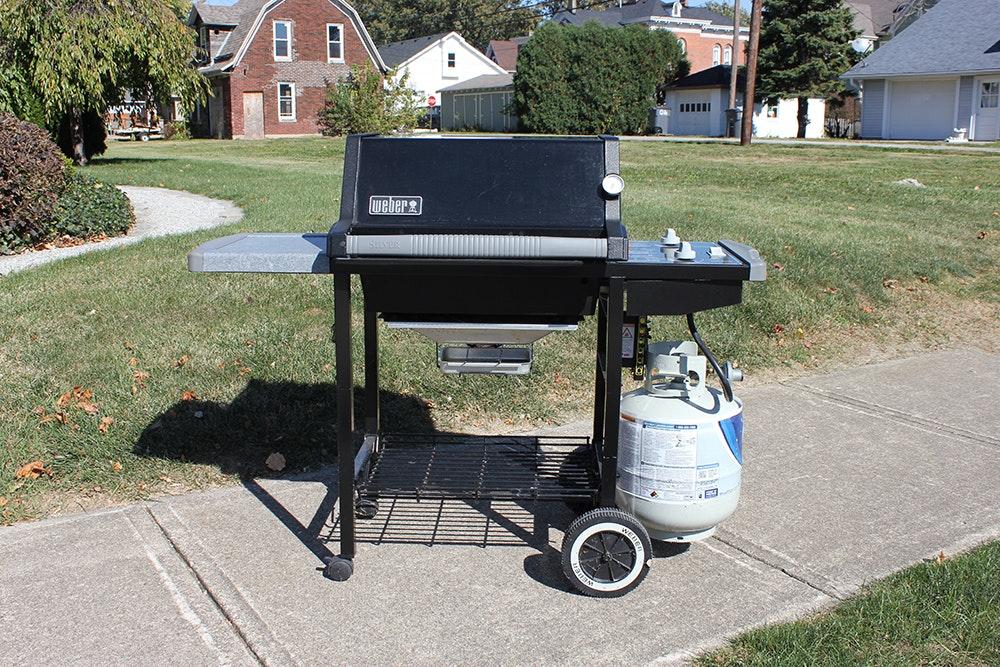 Weber Genesis Silver A Gas Grill : EBTH