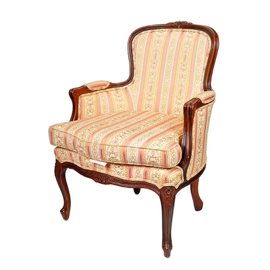 Ethan Allen Upholstered Armchair | EBTH