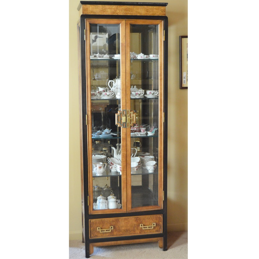 Century Furniture Asian Style Curio Cabinet