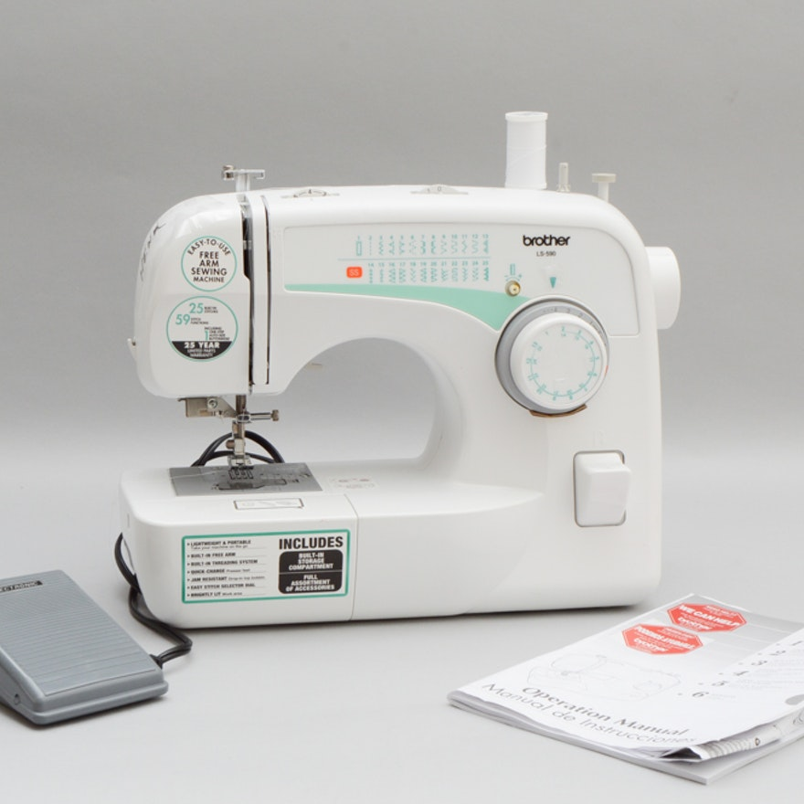 Brother LS40 Sewing Machine EBTH Stunning Ls590 Brother Sewing Machine