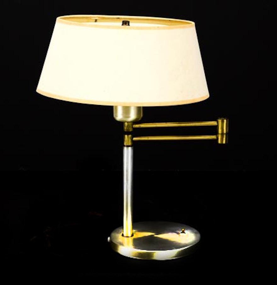 Vintage nessen swing arm table lamp ebth vintage nessen swing arm table lamp geotapseo Gallery