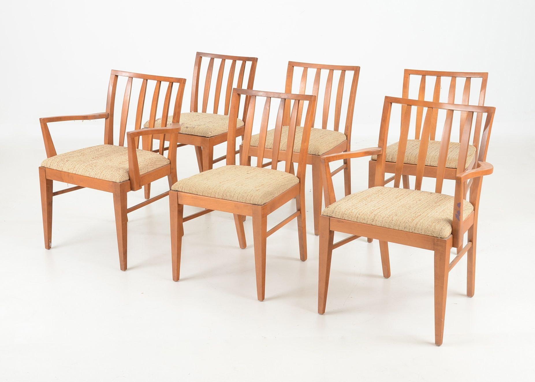 mid century modern dining room chairs ebth