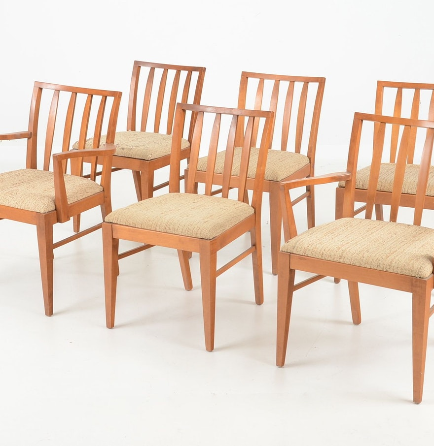 Mid century modern dining room chairs ebth for Mid century modern dining rooms
