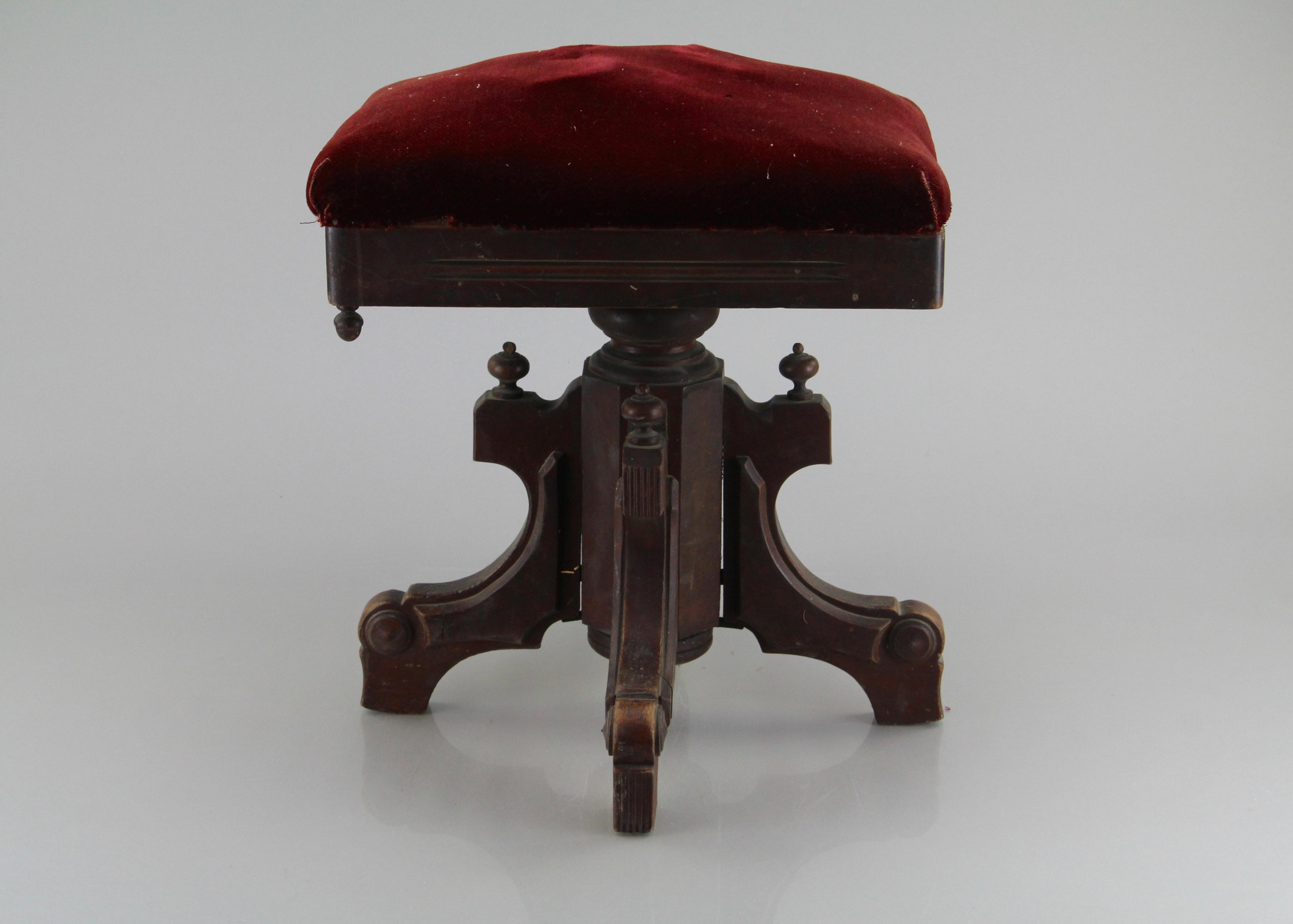 Antique Tonk Piano Stool ... & Antique Tonk Piano Stool : EBTH islam-shia.org