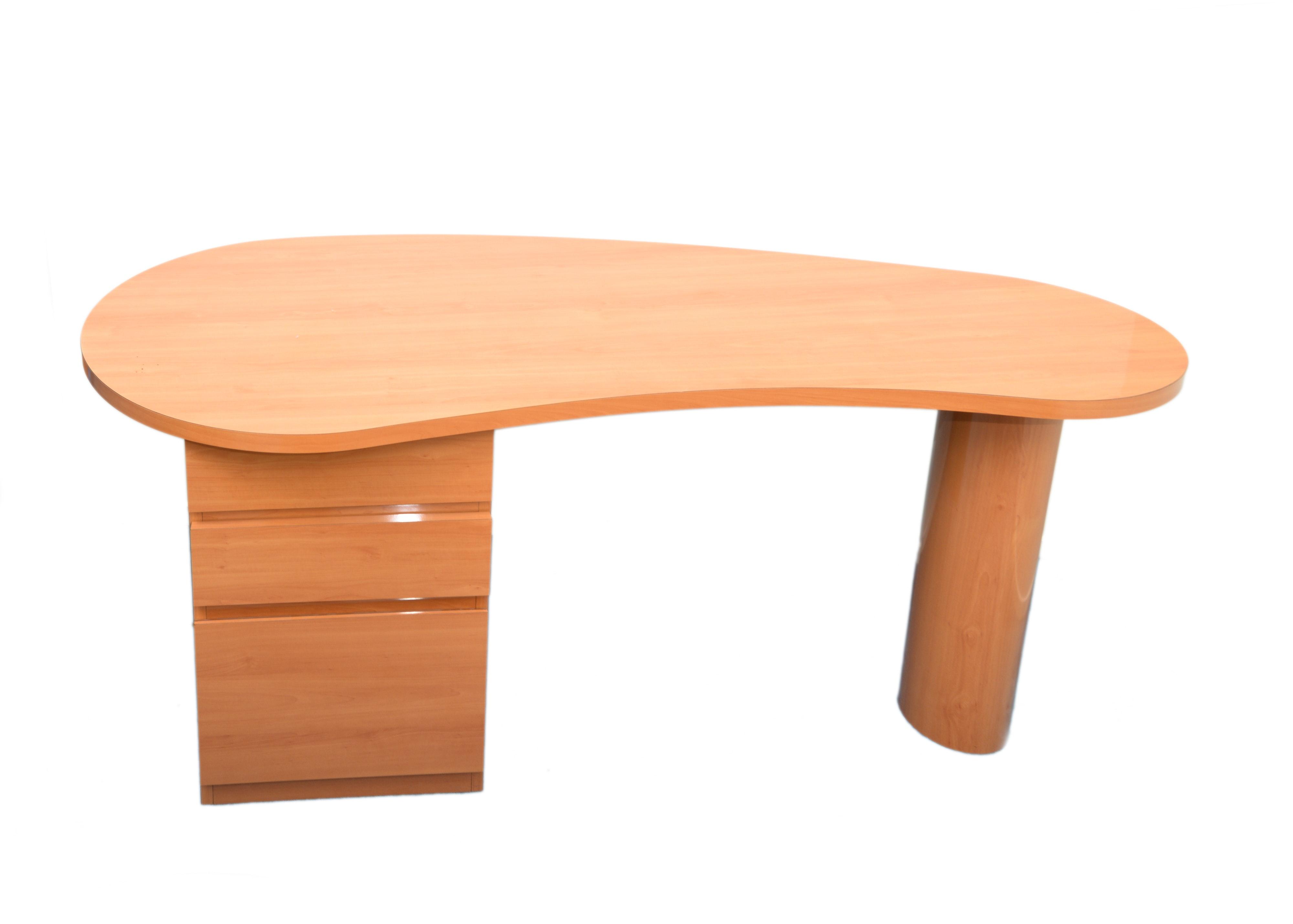 Shaker Style Cherry Writing Desk By Paul Thomas Designs Ebth