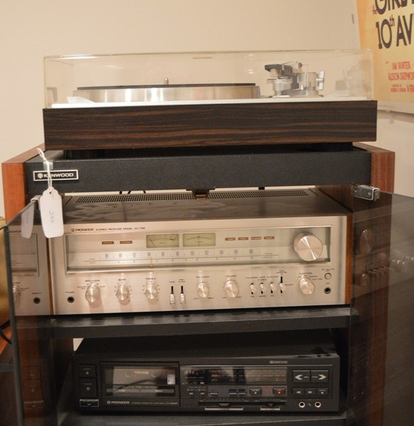 Vintage Stereo System And Cabinet Ebth
