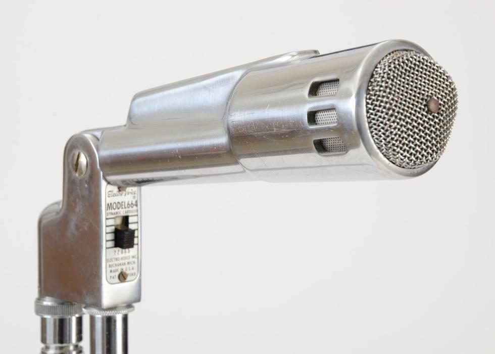 EV Electro Voice Microphone Badge Model 664