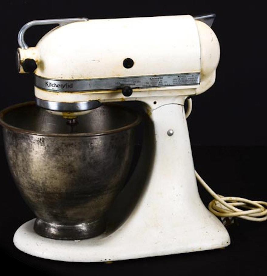 Vintage Hobart Kitchenaid Model K4 8 Mixer Ebth