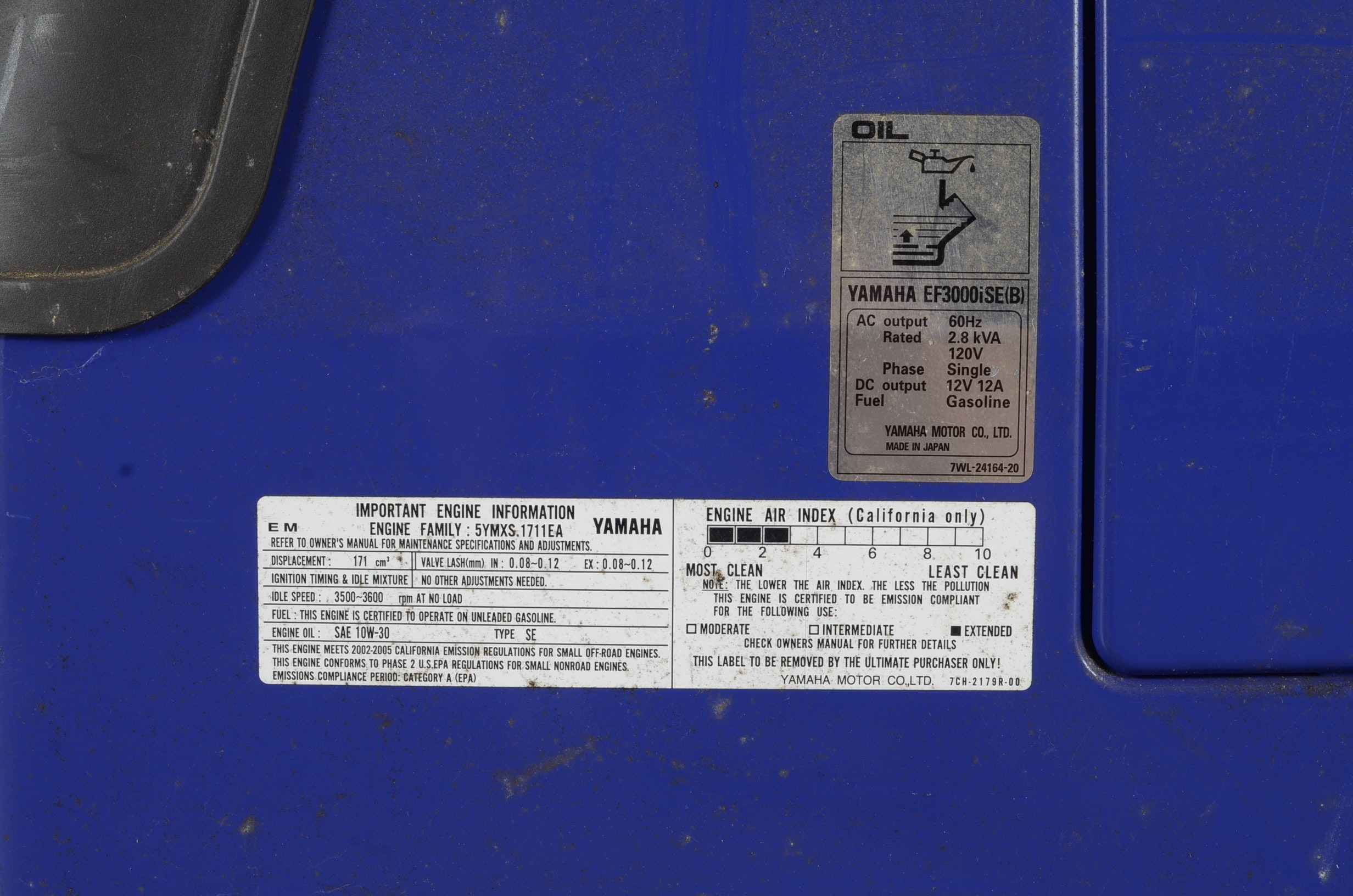 Yamaha Ef3000iseb Gas Generator Ebth