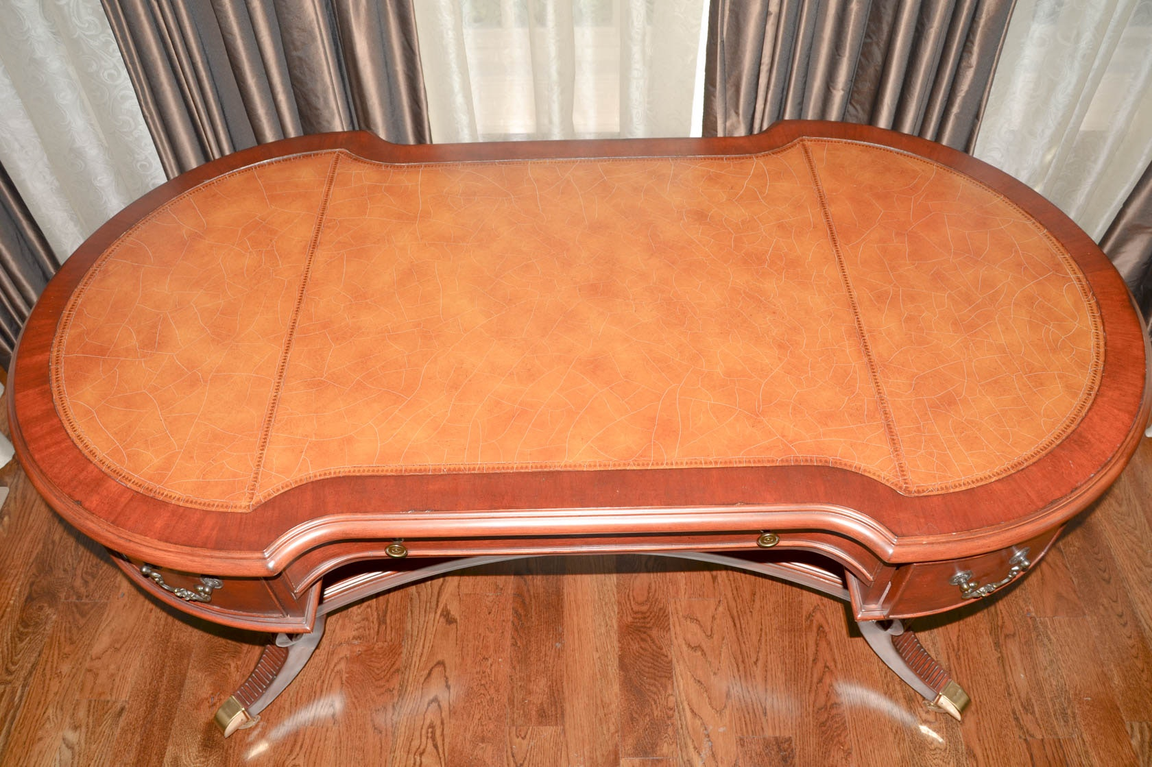 "Hooker Furniture ""Seven Seas"" Collection Writing Desk EBTH"