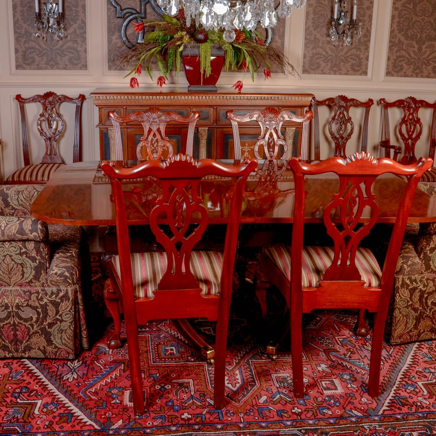Dining Table And Chairs From Hickory Mt Vernon Collection