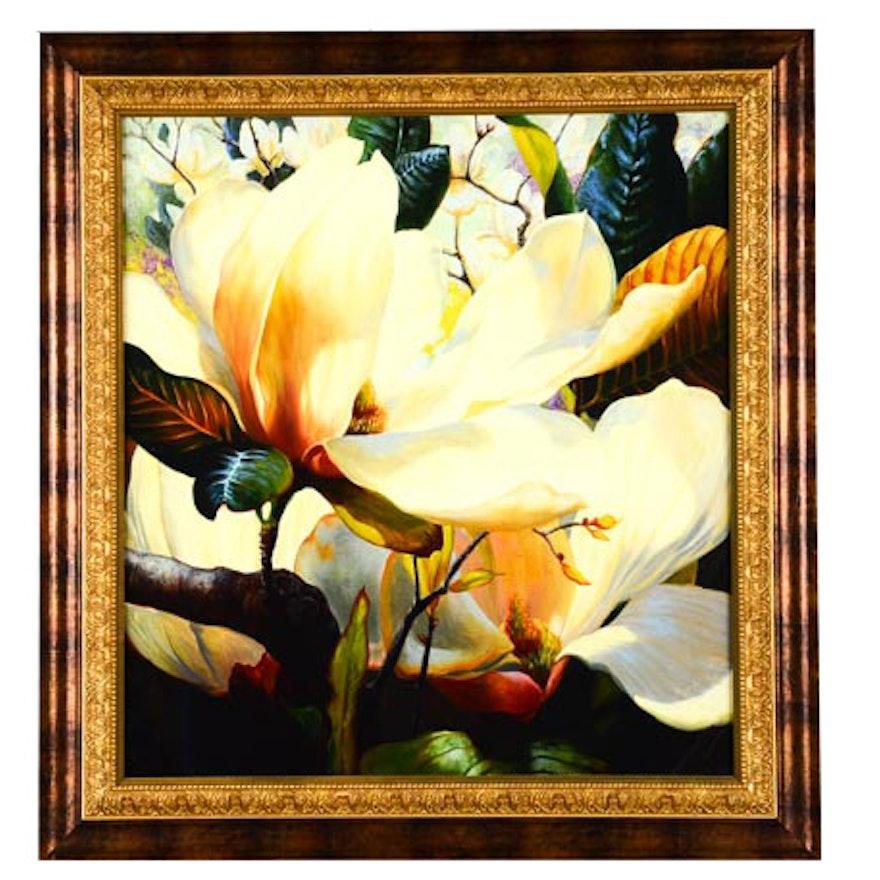 "Textured Print of Elizabeth Horning's ""Fragrant Spring"""