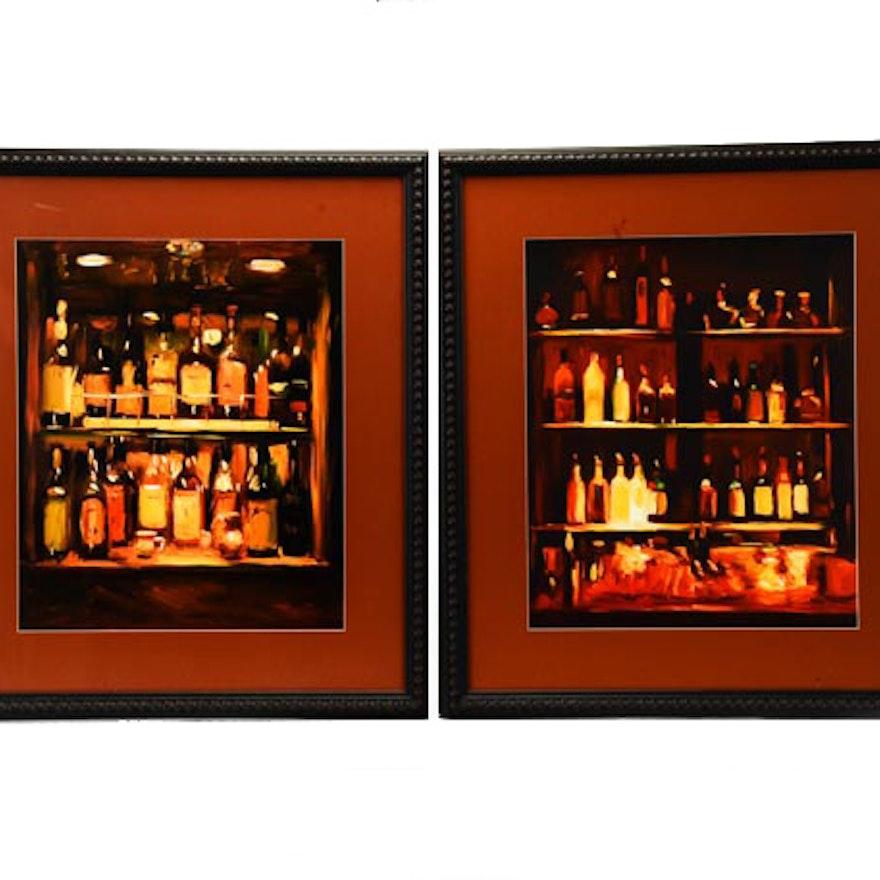Two Pam Ingalls Bar Prints