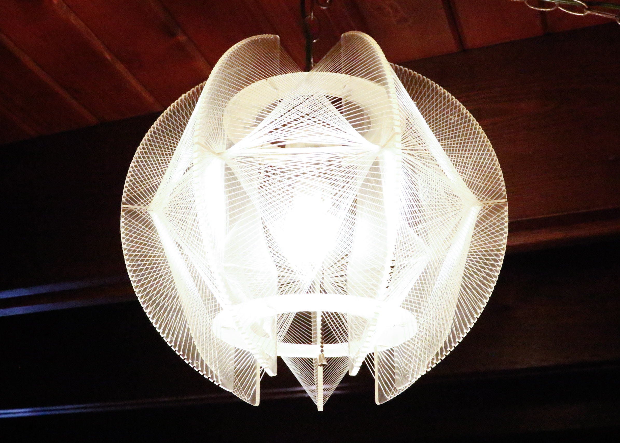 Atomic Space Age Lucite String Swag Light & Vintage Lamps | Retro Lighting | Antique Light Fixtures in Milford ... azcodes.com