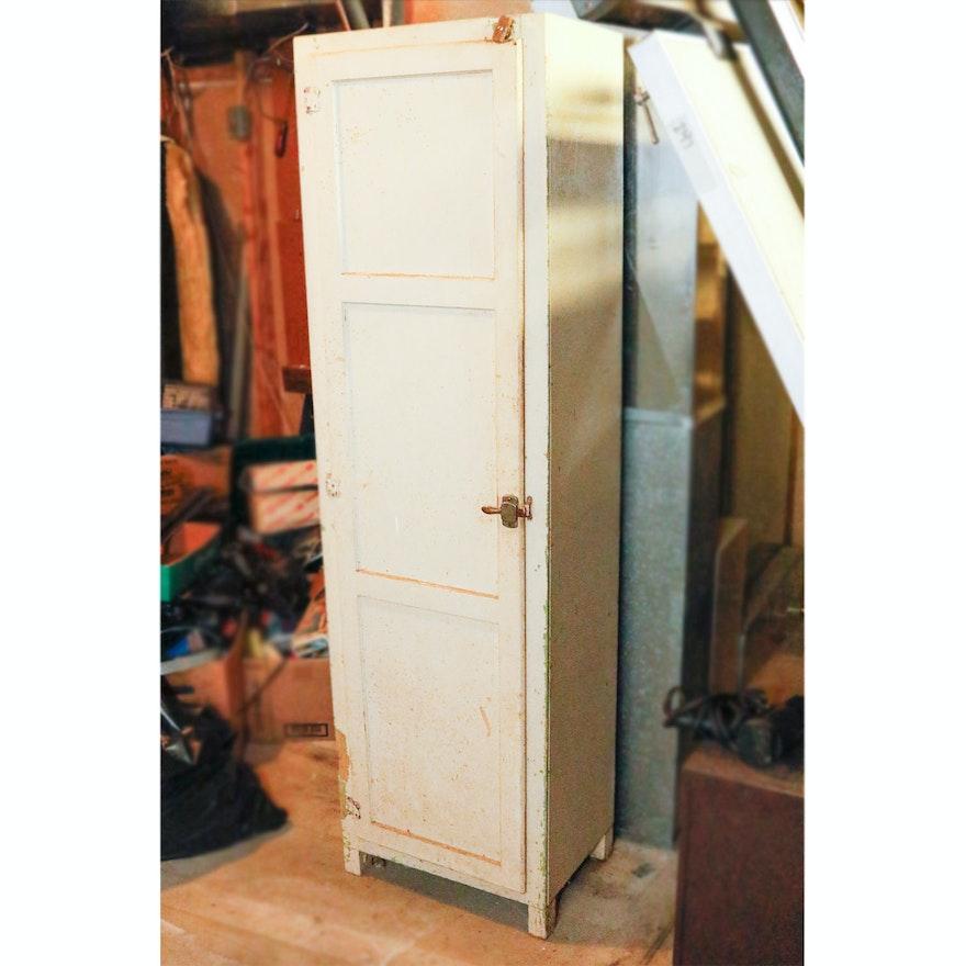 Vintage Hoosier Chimney Cupboard ... - Vintage Hoosier Chimney Cupboard : EBTH