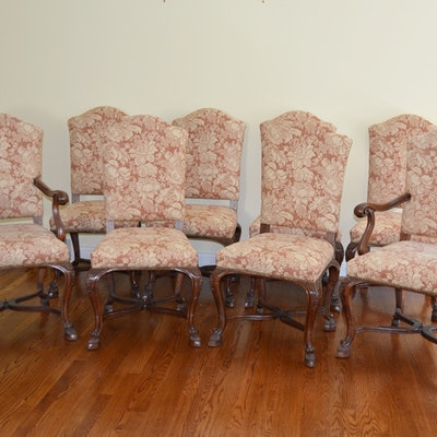 Eight Antique Louis XV Style High-Back Chairs, Circa 19th c. - Vintage Chairs, Antique Chairs And Retro Chairs Auction In Hyde