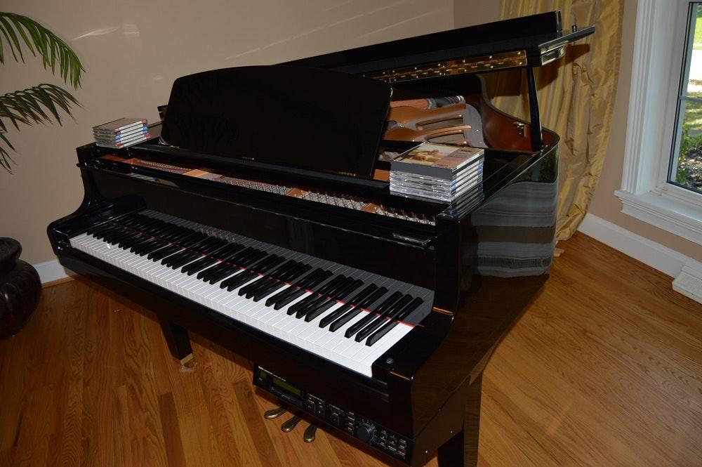Yamaha gp disklavier baby grand piano ebth for Yamaha disklavier grand piano