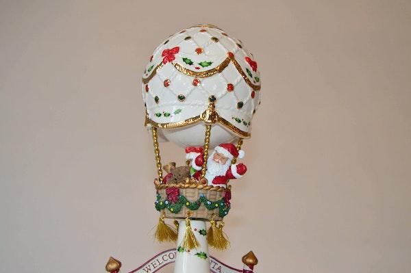 Lenox balloon ride christmas music box ebth