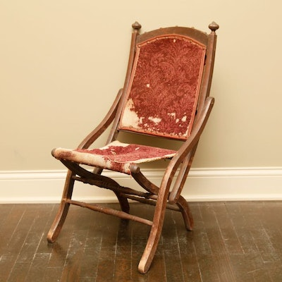 Vintage Wooden Folding Chair - Vintage Chairs, Antique Chairs And Retro  Chairs Auction In - - Antique Folding Chair Antique Furniture