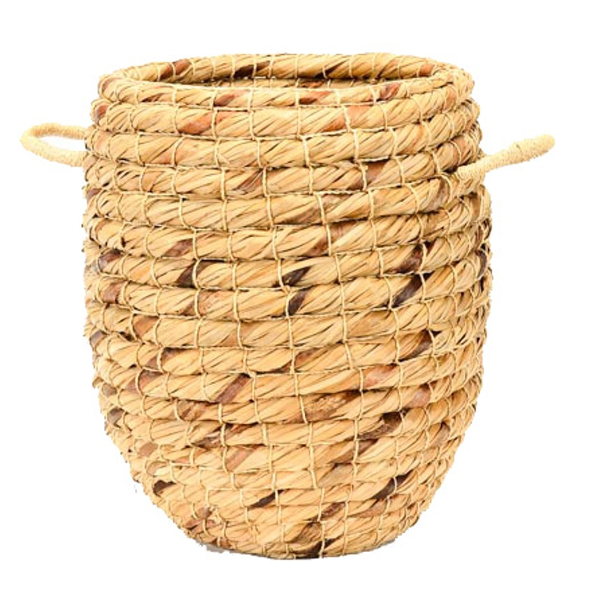 Handwoven Coiled Basket