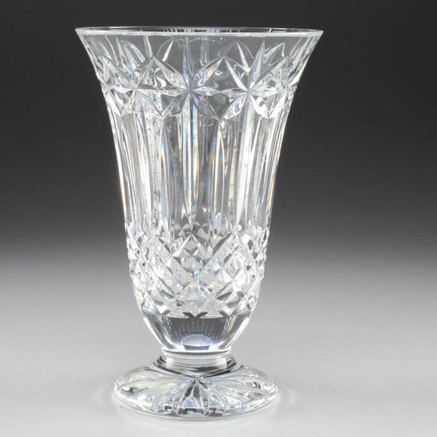 "Waterford Crystal ""Balmoral"" Large Vase"