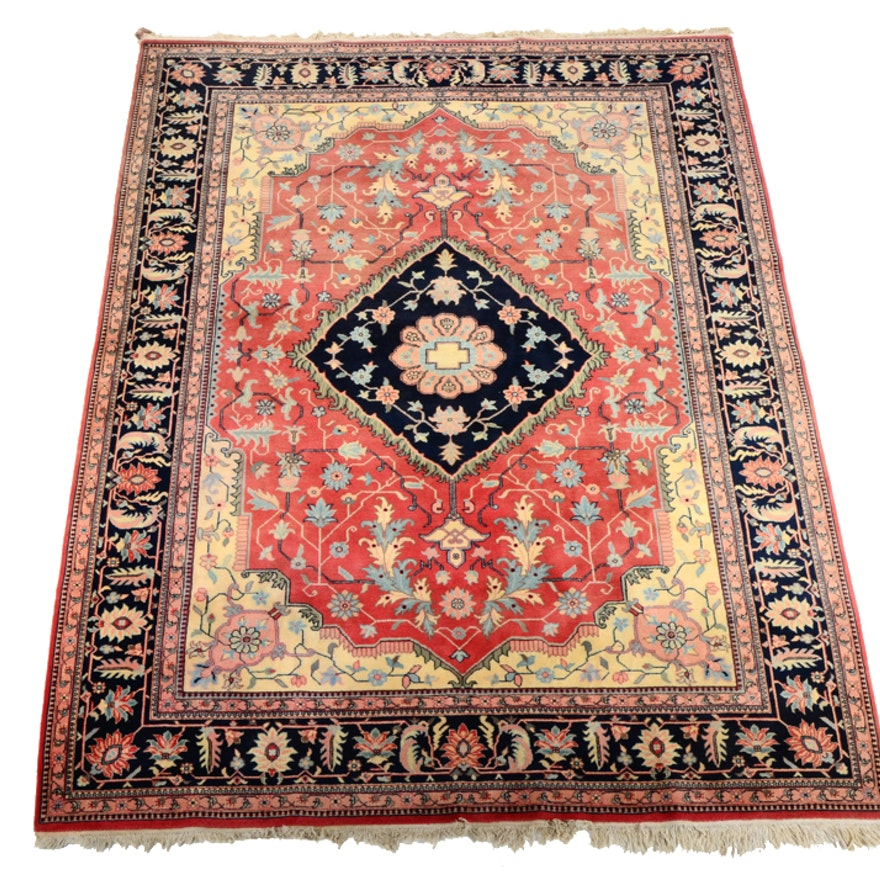 Backerath Pink and Blue Floral Area Rug