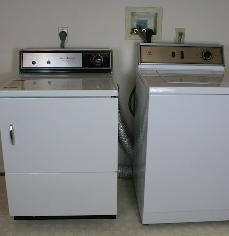 large capacity washer and dryer