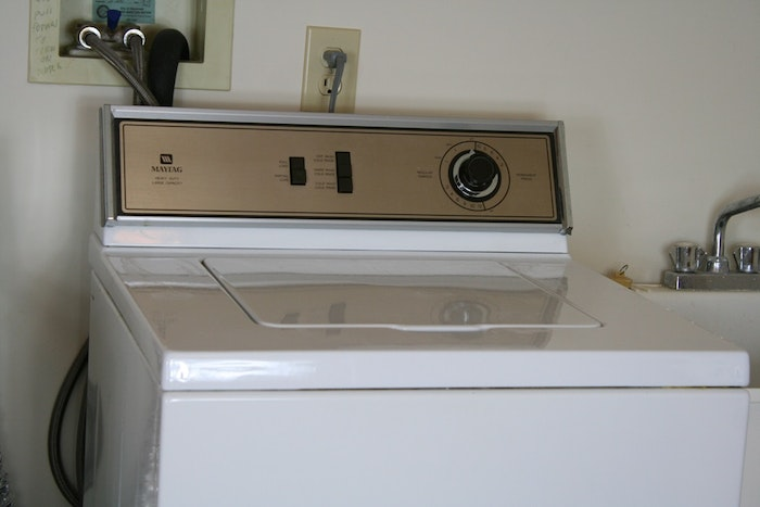Older Model Ge Dryer And Maytag Washer Ebth