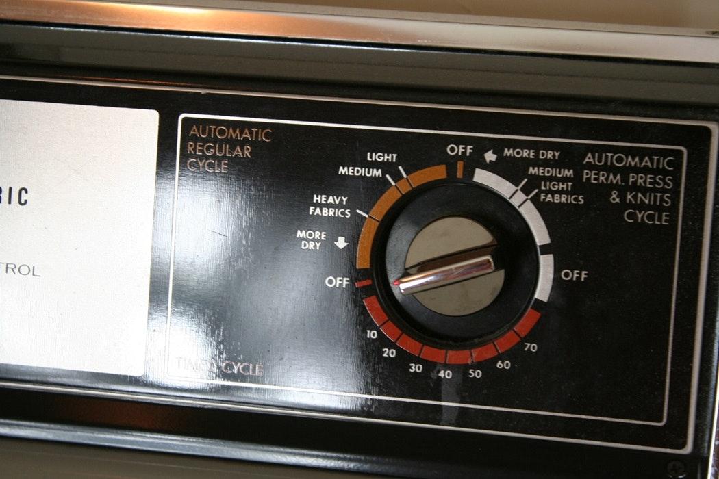 Older Model Ge Dryer And Maytag Washer Ebth
