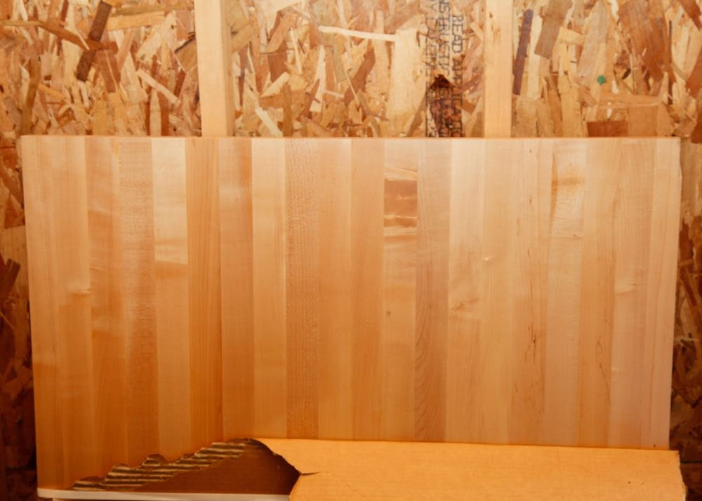 maple wood butcher block ebth