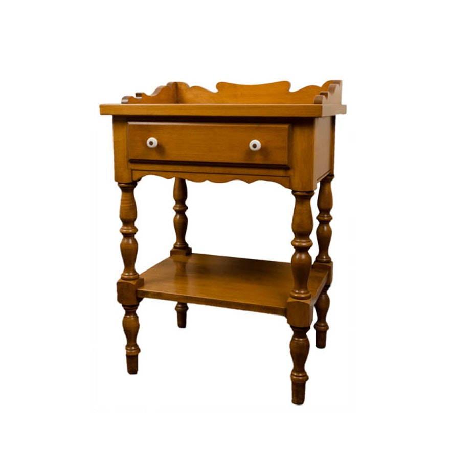 Beal Rock Maple Side Table