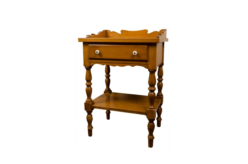 Beal Rock Maple Side Table ...