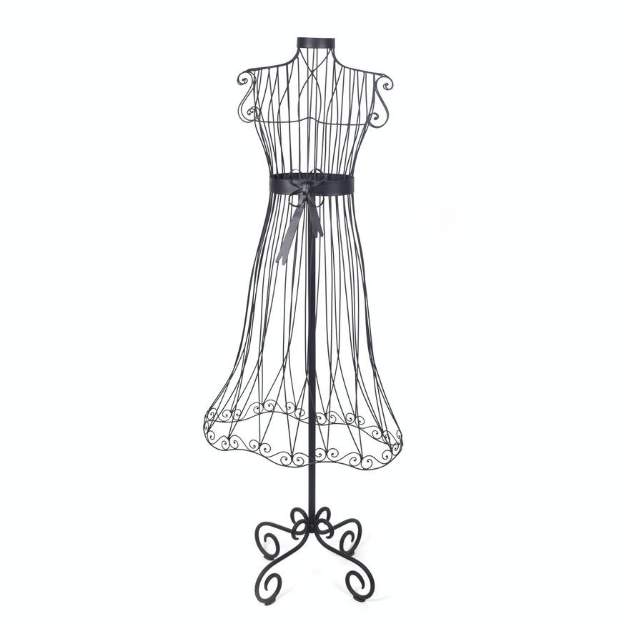 Decorative Wire Dress Form : EBTH
