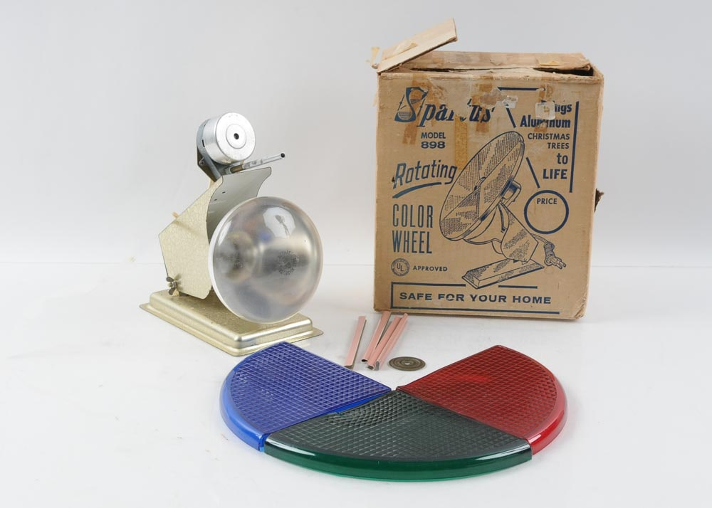 spartus rotating color wheel on ebay