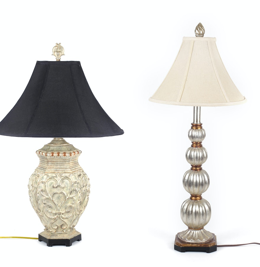 Pair Of Decorative Table Lamps Ebth