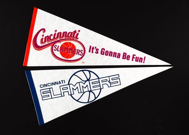 Cincinnati Slammers Basketball Pennants