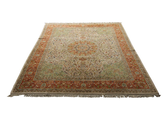 Pande Cameron Of New York Hand Woven Indian Area Rug Ebth