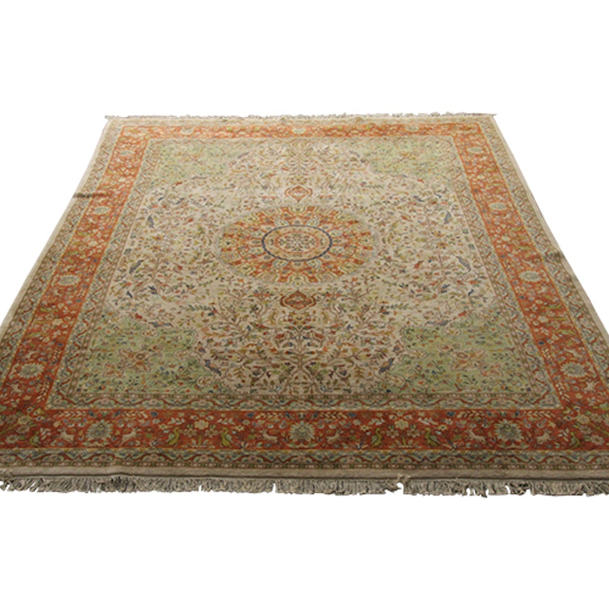 Pande Cameron Of New York Hand Woven Indian Area Rug