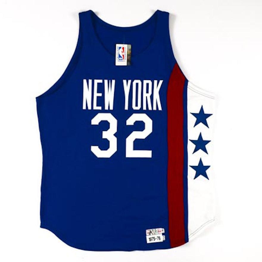 huge selection of 2432e ea661 Julius Erving Signed Nets Throwback Jersey COA