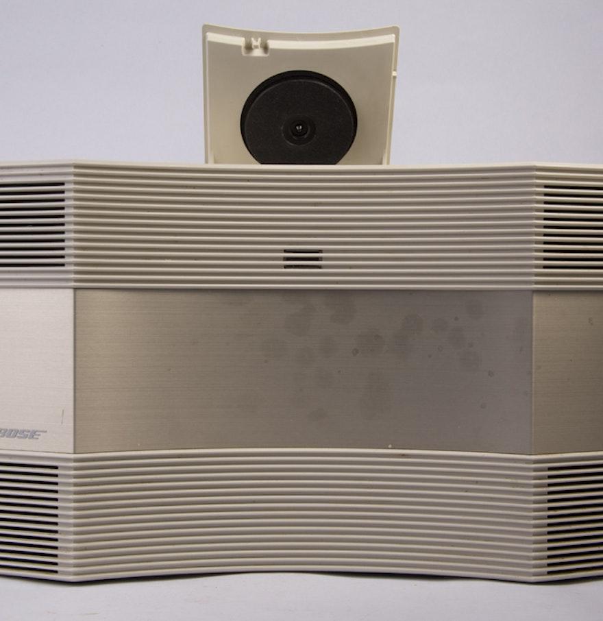 bose stereo acoustic wave system ebth. Black Bedroom Furniture Sets. Home Design Ideas