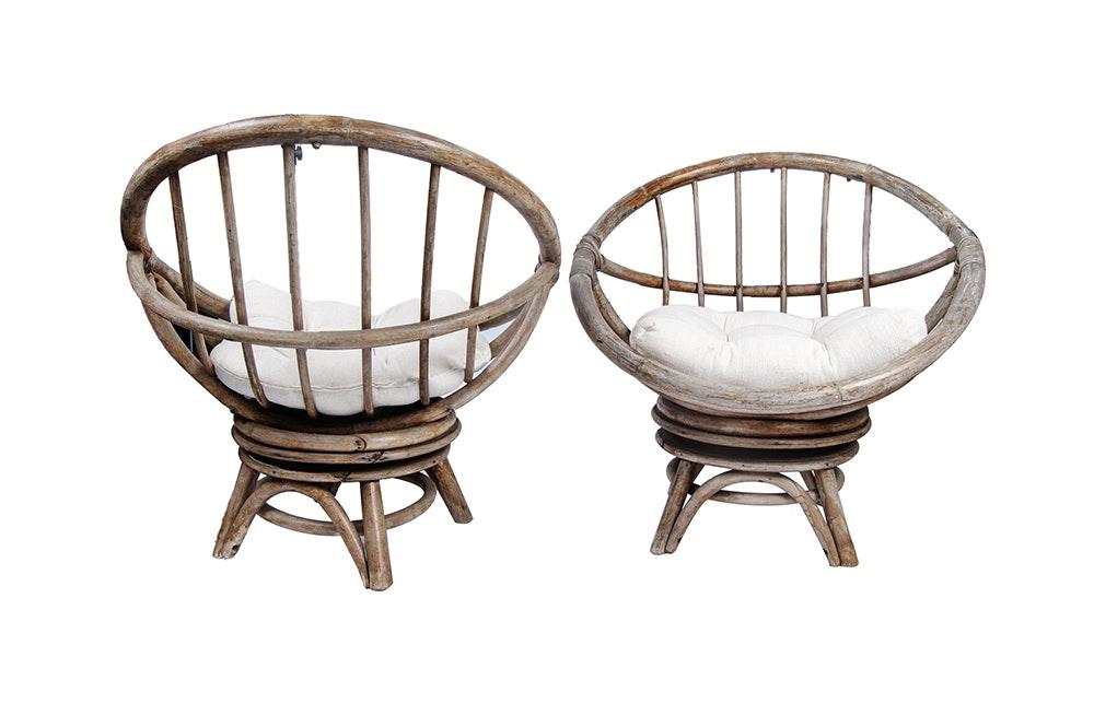 Papasan Chairs Ebth