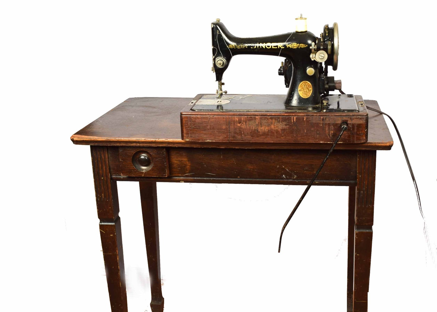 1928 singer sewing machine 99 13 and table ebth for 13 table
