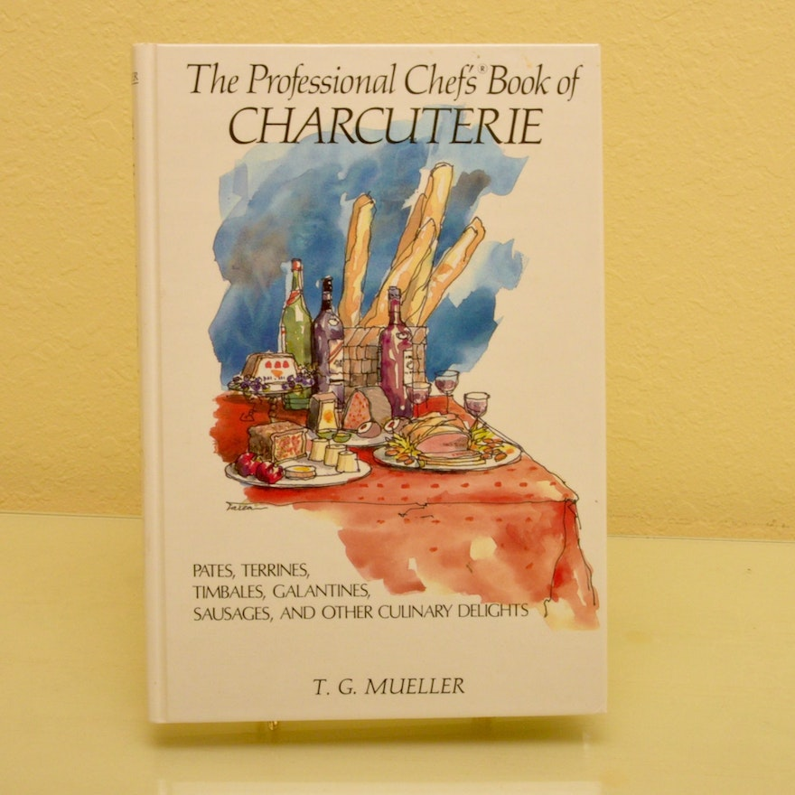 1st edition chef s book charcuterie signed by t g mueller ebth
