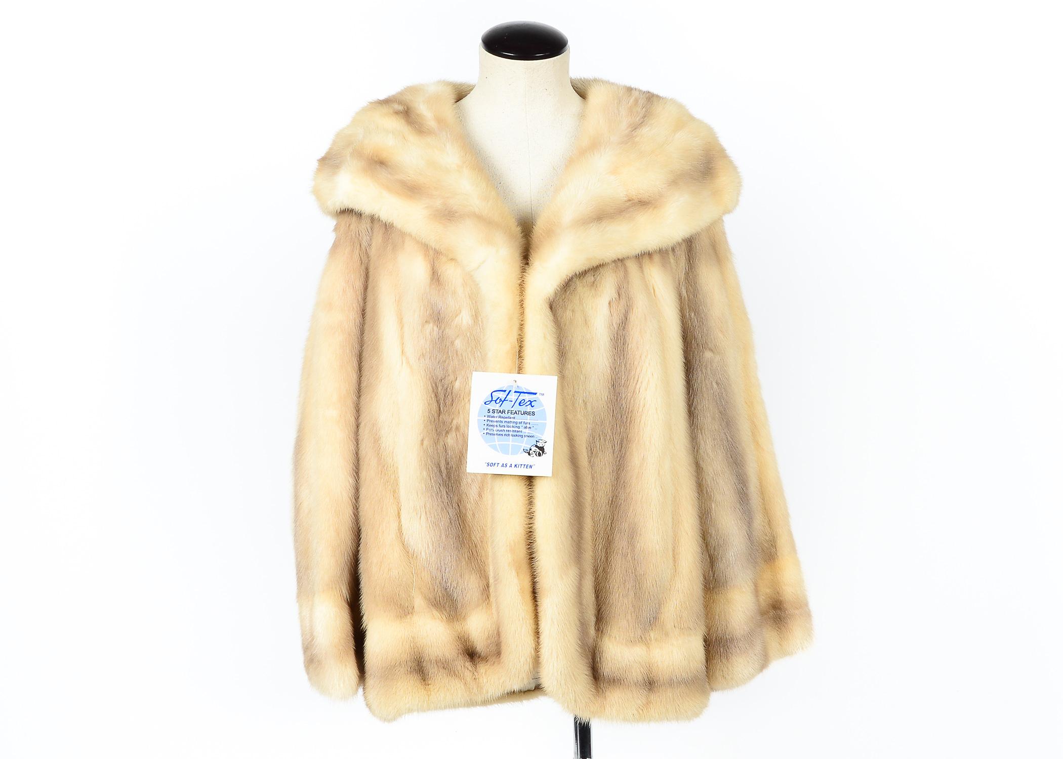Philip Reiner Dyed Mink Jacket : EBTH