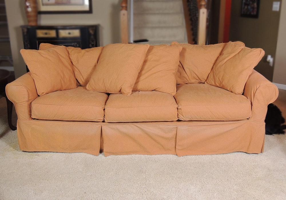 Arhaus Sofa W/ Cover ...