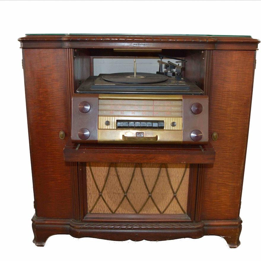 Vintage Victrola RCA Victor Record Player