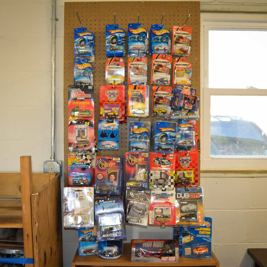 Large Hot Wheels Collection