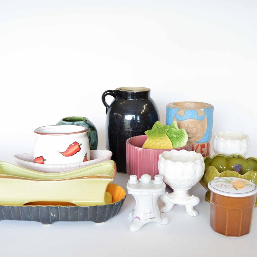 Ceramic Pottery Assortment