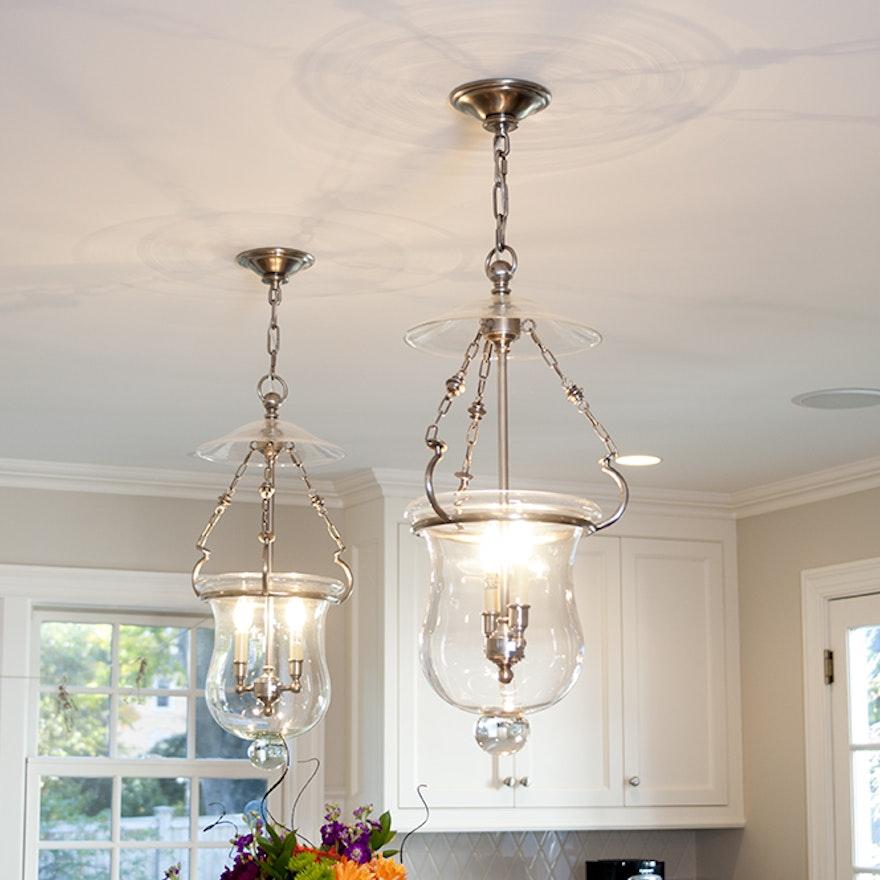 Visual Comfort Bell Jar Pendant Light